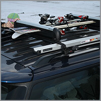 Rent a Car Bulgaria - Ski rack
